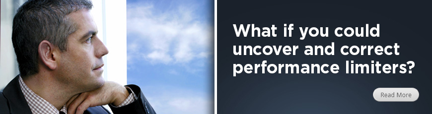 What if you could uncover and correct performance limiters?
